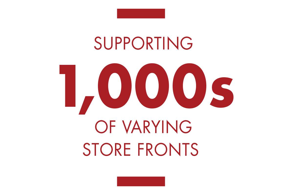 Supporting 1,000s of Storefronts