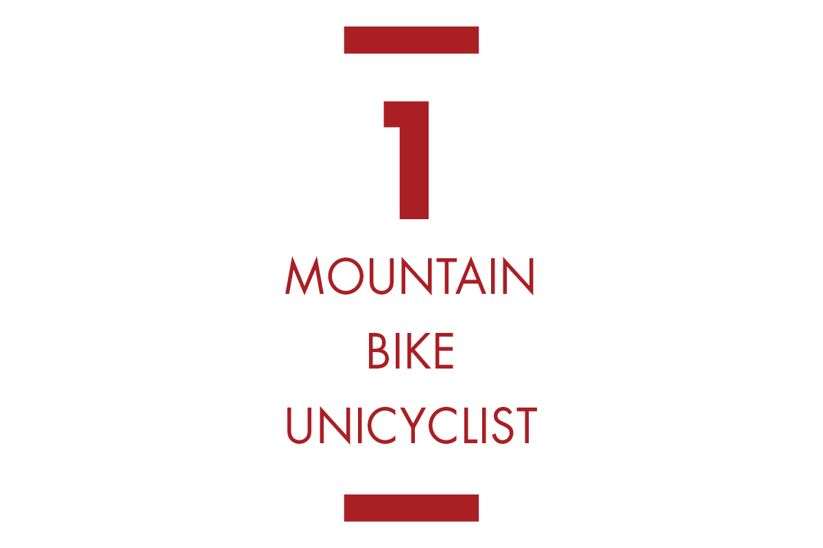 Mtn Bike Unicyclist